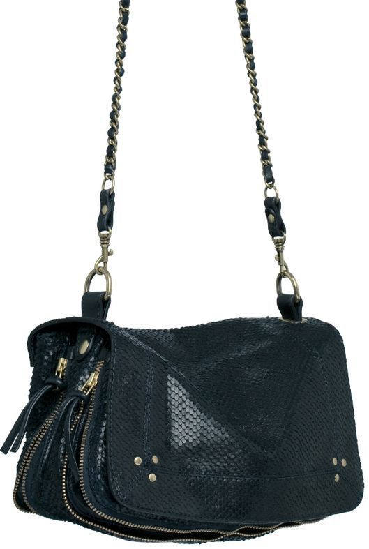 Jerome Dreyfuss Bobi Bag in Marine Python--on my list for fall!