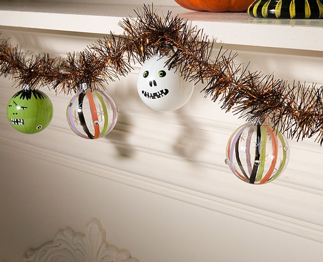 halloween garland diy projectshalloween - Diy Halloween Projects