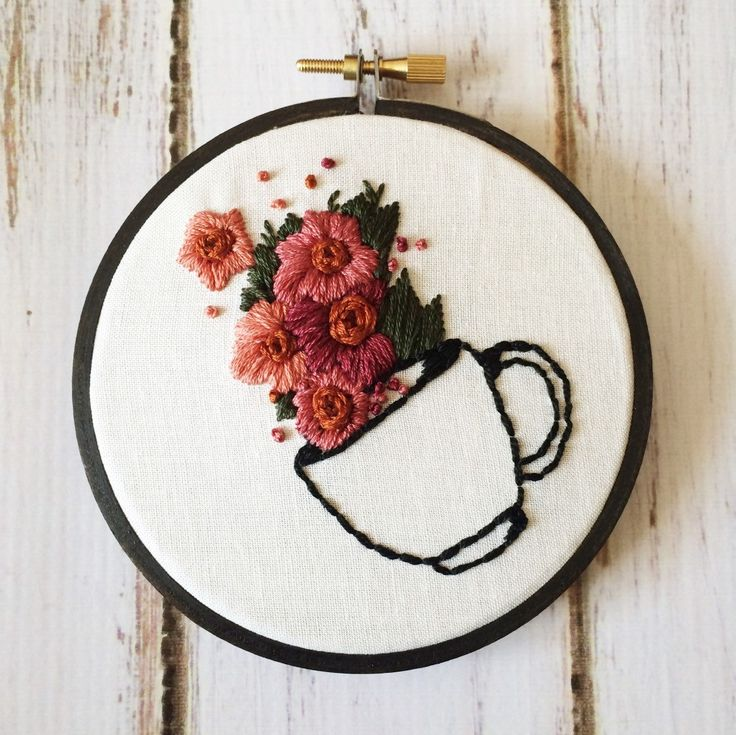 Best handmade embroidery designs ideas on pinterest