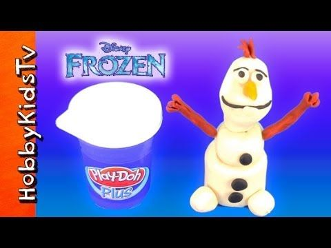 Disney Frozen Movie Olaf PLAY-DOH! How to Make Olaf Snowman [Princess Elsa] See how HobbyMom makes Disney Move Frozen Olaf Snowman out of Play-Doh Plus! Easy to sculpt. Disney Princess, Elsa, watches and is so happy when Olaf is made. Watch the next Olaf video where we make Play-Doh snow cones! #hobbykidstvDISNEY #hobbykidstvPLAYDOH #hobbykidstvGIRLS