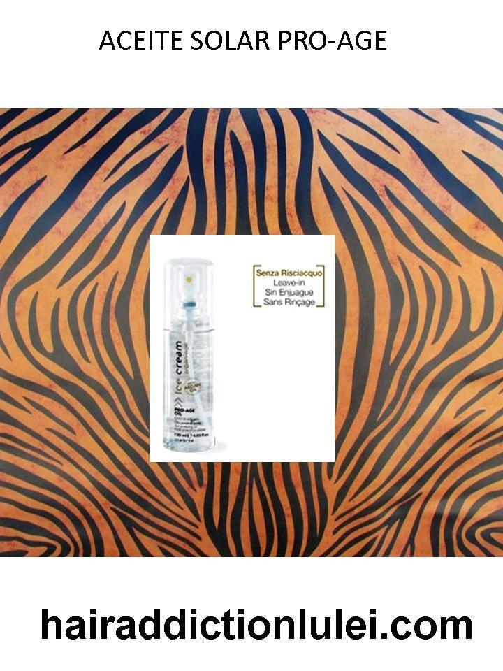 Aceite solar Pro-Age con Aceite de Argán.  http://hairaddictionluilei.com/store/LEI/es/lei/115-argan-aceite-solar-pro-age-.html