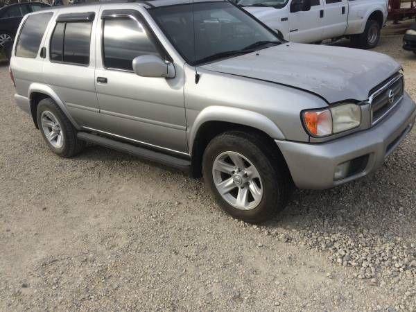 2003 Nissan Pathfinder, 3.5liter, needs work, parts – auto parts – by owner