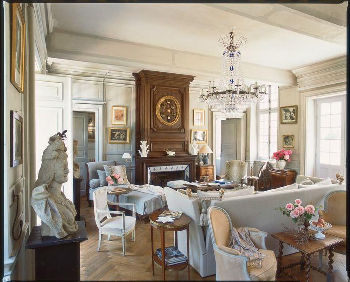 manoir de normandy home to boston designer charles spada