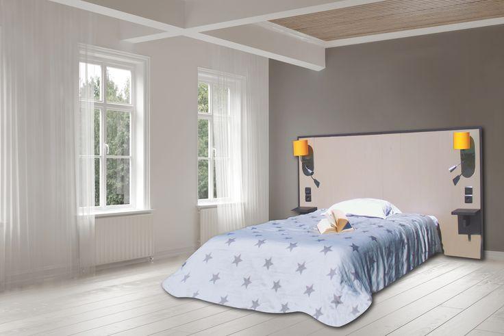 oh my bed tête de lit personnalisée decor greige brillant aménagez
