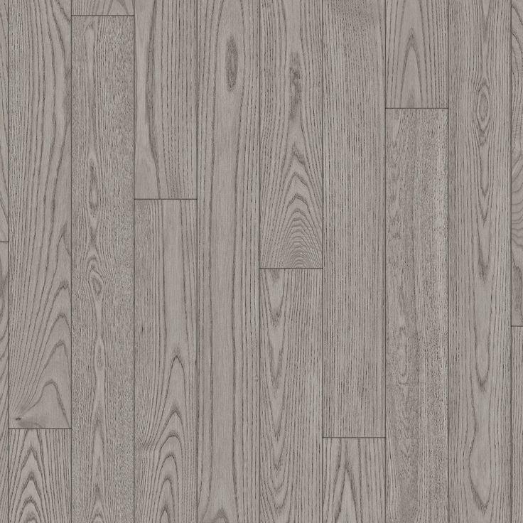 Plancher de frêne, inox, texture brossée | Ash, Inox, Brushed Texture hardwood flooring | Preverco