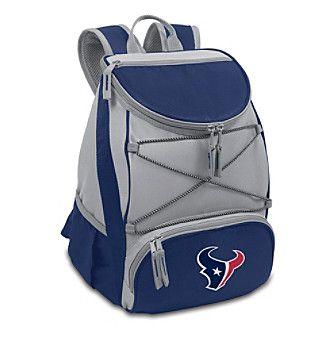NFL® Houston Texans Navy PTX Backpack Cooler