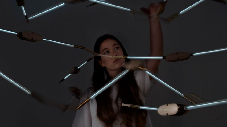 LEXUS DESIGN AWARD 2015 PROTOTYPE WINNER, Diomedeidæ is a kinetic lighting sculpture that leverages its own flapping movement to generate clean electricity and power LED lights. #Diomedeidae #LDA #Lexus #design
