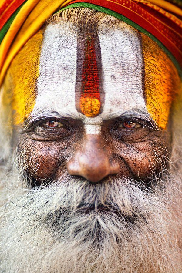 Baba, Sadhu in Varanasi, India