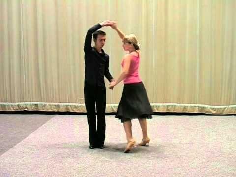 Základní taneční - Mazurka.mpg - YouTube