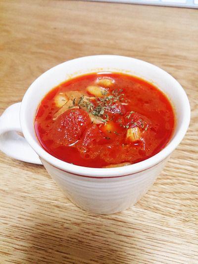 マッシュルーム香るタンパク質も取れるデトックススープ by raacoさん ...