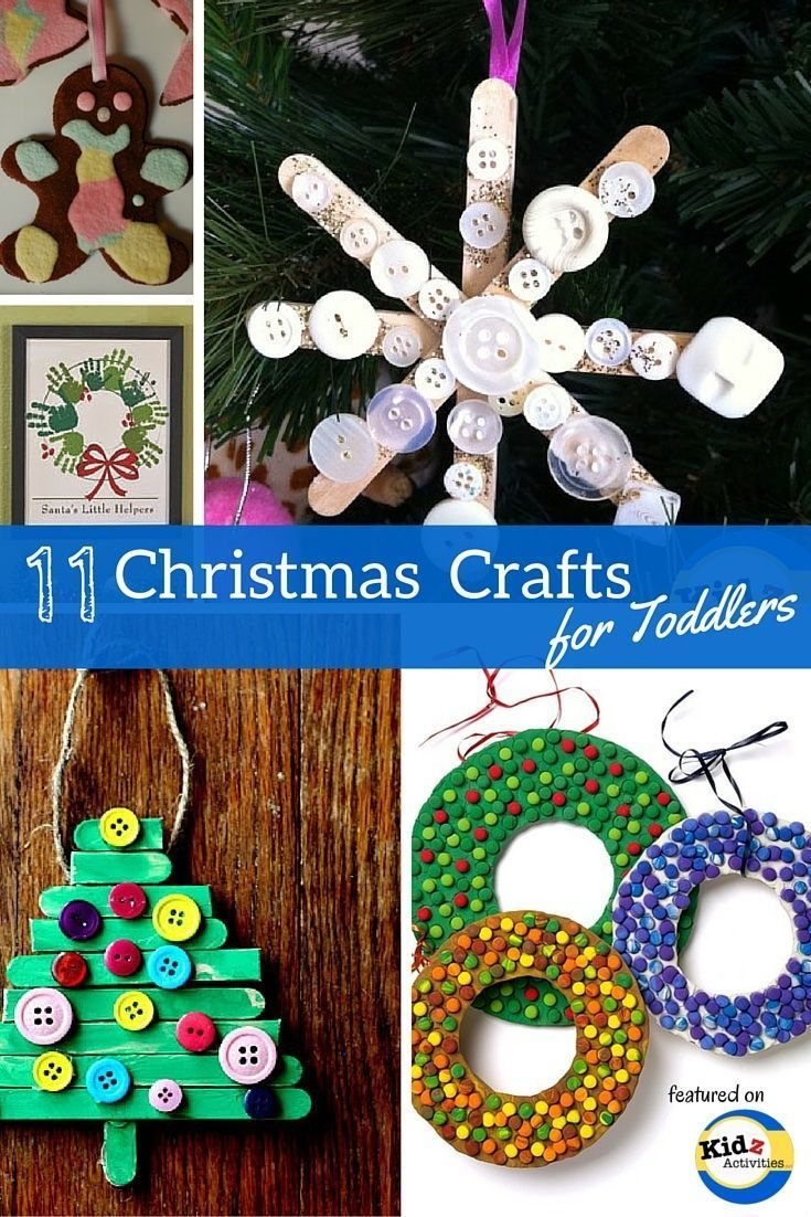 11 Christmas Crafts for Toddlers - Kidz Activities