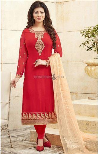 Latest Designer Indian Bollywood Dress Uk Presented By Ayesha Takia http://www.designersandyou.com/dresses/bollywood-dresses #Dress #Latest #Design #Salwar #Kameez #Georgette #Santoon #Brasso #Dupatta #Indian #Soft #IndianWear
