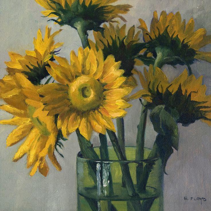 Sunflowers by Elizabeth Floyd