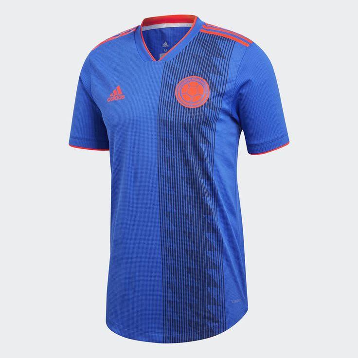 adidas Camiseta Auténtica Selección Colombia Visitante - Azul   adidas  Colombia