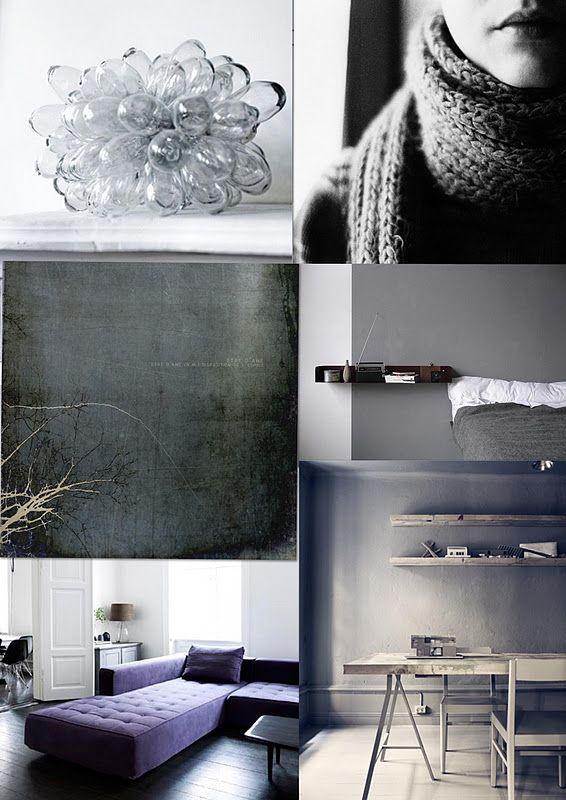 My grey moodboard.