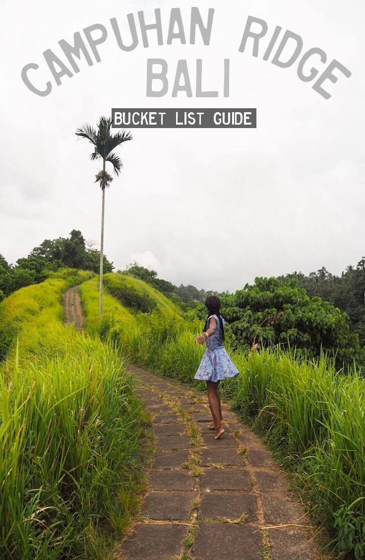 Guide: Campuhan Ridge Walk – Ubud, Bali