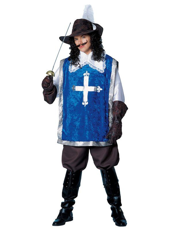 Musketeer Costume for Adults
