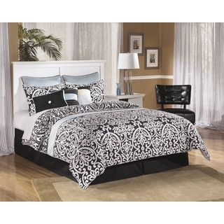 Shop for Signature Design by Ashley Bostwick Shoals White Queen/Full Panel Headboard. Get free delivery at Overstock.com - Your Online Furniture Shop! Get 5% in rewards with Club O! - 17258222