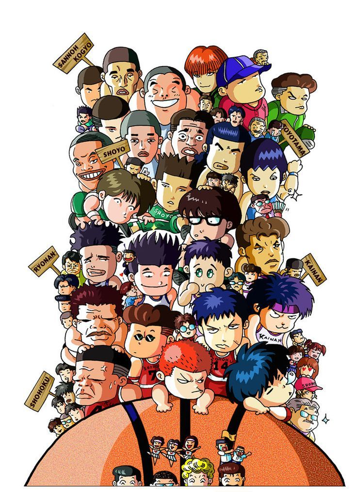 Download Sakuragi Slam Dunk wallpapers to your cell phone - dunk