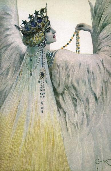 Мария Лебедь Белая • Соломко Сергей Сергеевич (1867-1928)