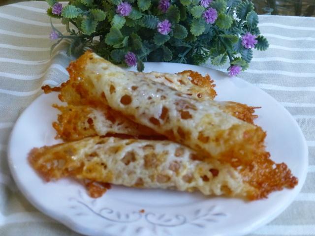 Canap s rollo de queso con salm n recipe recetas for Canape quiche recipe