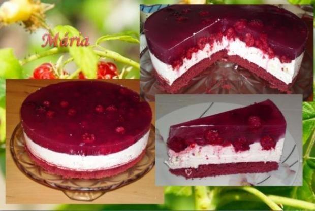 Malinovo - jogurtová torta... , Recepty, Torty | Naničmama.sk