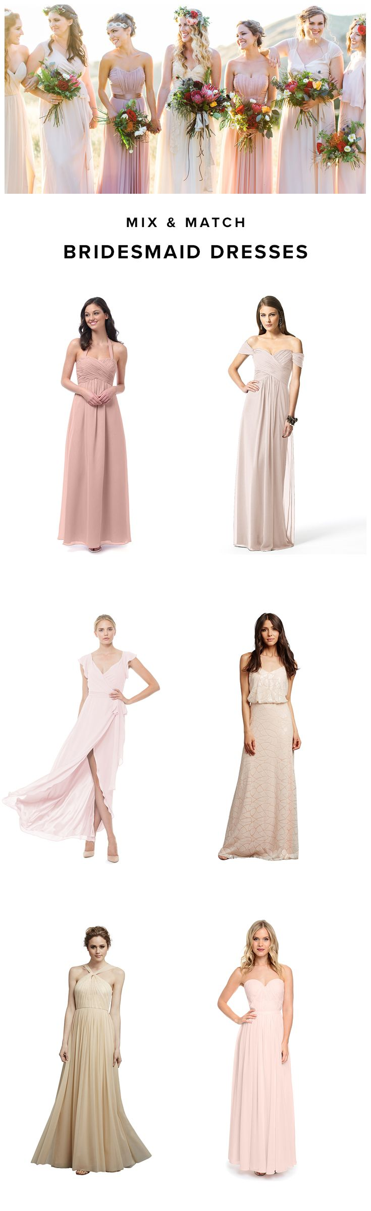Weddington Way makes it easy to mix and match your bridesmaid dresses. 1000s of styles to chose from, Weddington Way has the largest assortment of bridesmaid's dresses anywhere! Sign up now to shop bridesmaid dresses.