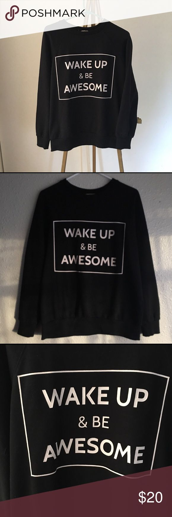 COOL SWEATSHIRT BY PULL AND BEAR - brand PULL AND BEAR - size M - no defect - no trades - fix price Pull&Bear Tops Sweatshirts & Hoodies