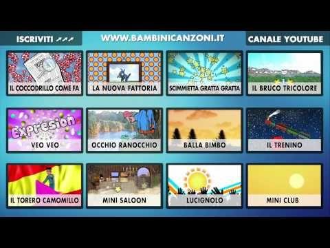 INDICE INTERATTIVO - CANZONI PER BAMBINI E BIMBI PICCOLI - ITALIAN BABY DANCE MUSIC VIDEO INDEX - YouTube