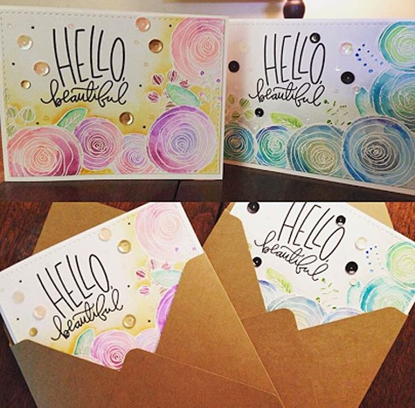 Well Hello Beautiful! Check out the latest Simon Says Stamp Spotted post on the blog!
