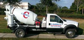 Cahill Concrete Delivery - Ready Mix Concrete Delivery - HOME