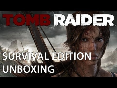 Tomb Raider Survival Edition Unboxing!