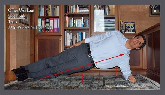 The Workplace Workout: Side Plank