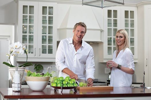 Our Brand Ambassador, Jean de Villiers spends a lot of time away from home, so every spare moment he has when back in SA, he spends with his lovely wife, Marlie and their two daughters!