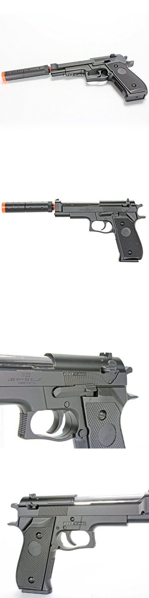 Pistol 160923: Airsoft Pistol Spring Loaded Handgun Airsoft With 2 Tactical Holster Case New BUY IT NOW ONLY: $59.0