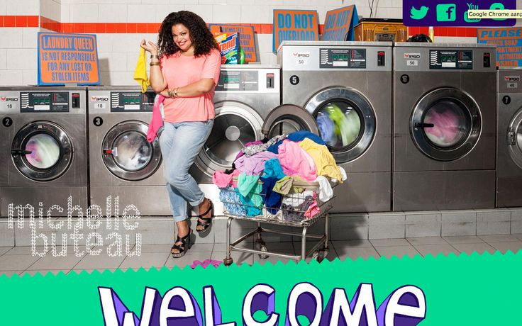 Funny responsive website for comedian Michelle Buteau
