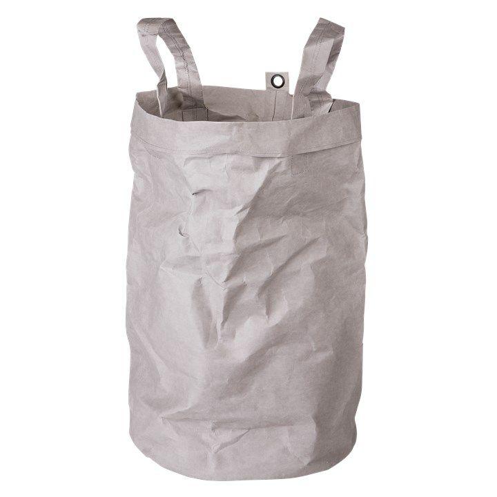 Tvättkorg Papper ljusgrå