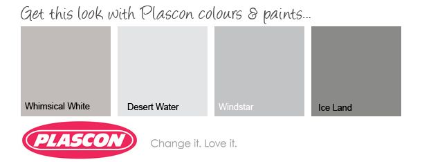 the perfect Scandinavian house palette... from; Plascon-'iceland'