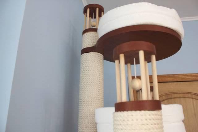 Комплекс Трио-2 - домики для кошек - интернет-магазин
