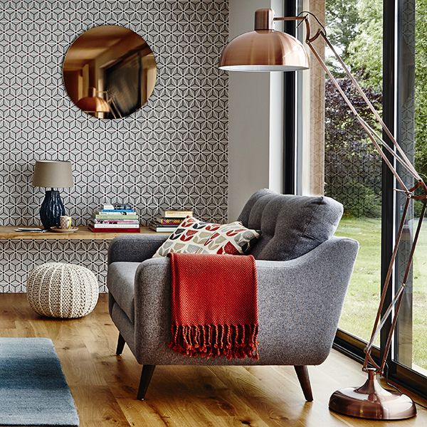 Round Copper Wall Mirror | Mirrors | Accessories