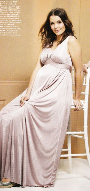 Simple, stunning evening dress in soft dusty pink that is exquisite and befitting any special occasion including wedding ceremonies.  Shop: http://www.sweetlillymaternity.com.au/Product-ostara-draped-maternity-evening-dress-by-lilly-b-australia-featured-in-cosmopolitan-pregnancy-magazine-686.aspx