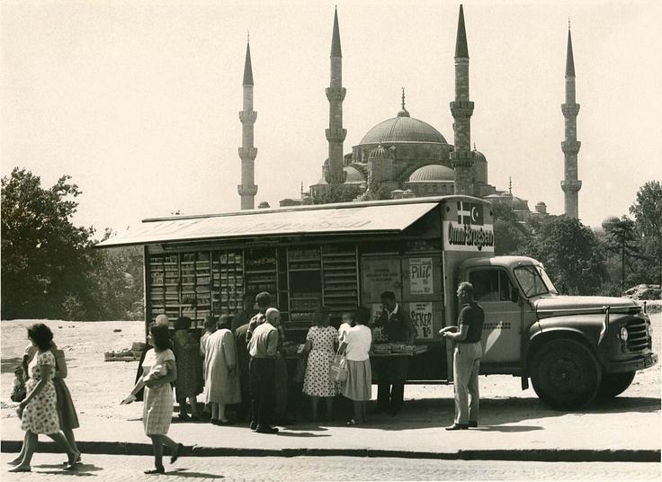 Migros Kamyon'u İstanbul'da...