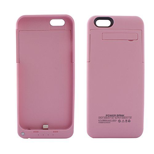 Light pink coloured iPhone 6 6s charger case available from our online webstore