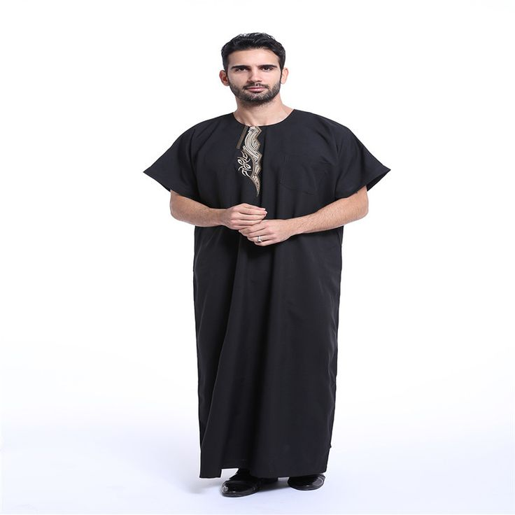 2017 New Muslim Men's Robes Saudi Arabia Week Hui Costume Terylene Long Male Sunday Clothes Party Clothing Hot Sale