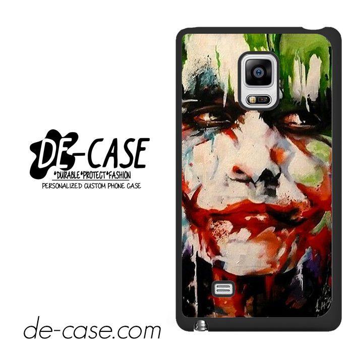 Joker Face Art DEAL-5933 Samsung Phonecase Cover For Samsung Galaxy Note Edge