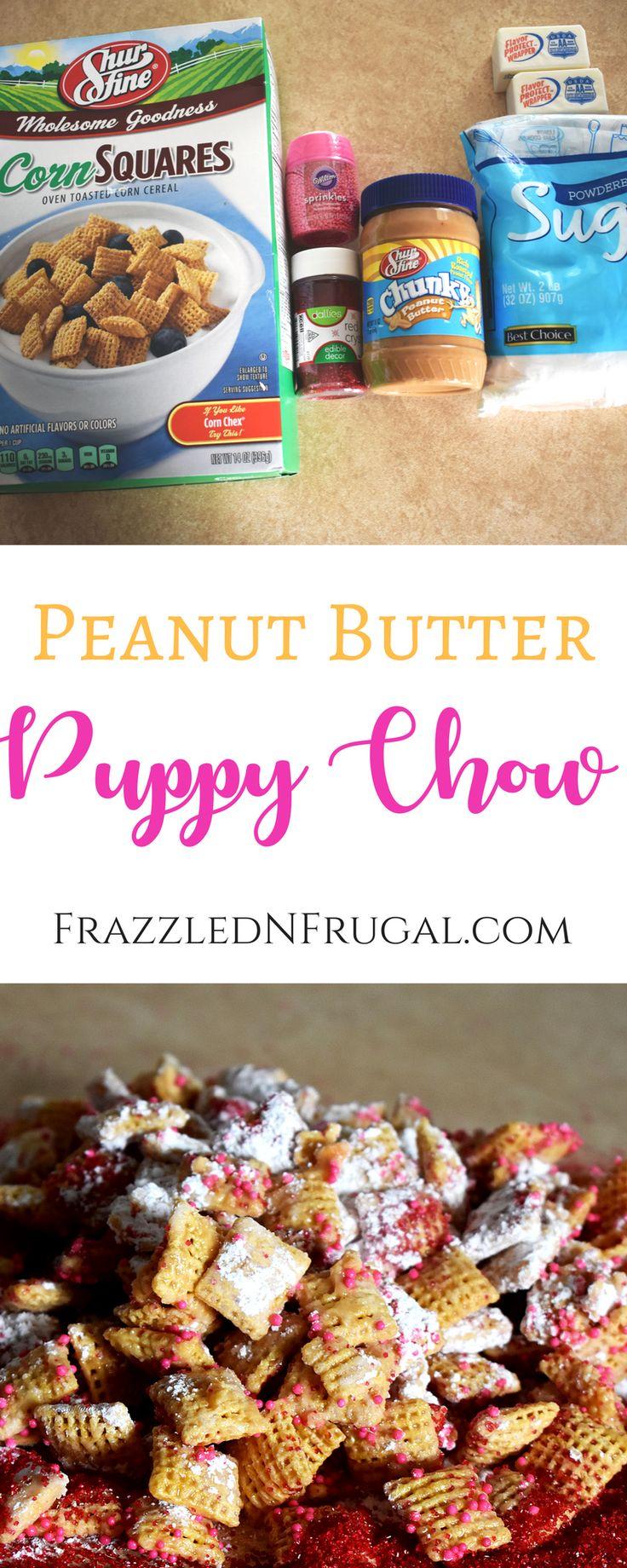 Peanut Butter Puppy Chow Recipe