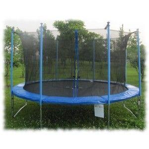 Trampolína 244 cm FIT-CENTER s bezpečnostní sítí + DÁREK #trampolína #Athletic24 #trampolinyzahradni
