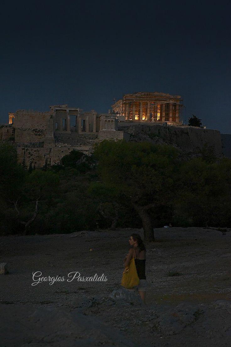 ACROPOLIS -PNYX...ATHENS..GREECE.....