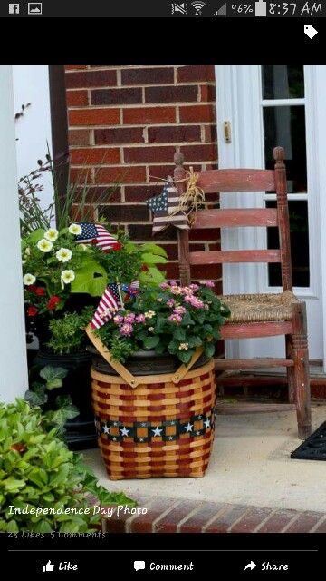 Pin By Country Charm And Decor On Red White And Blue Decor