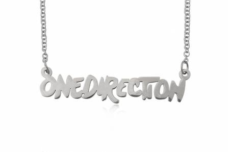 ONE DIRECTION necklace with pendant, free shipping